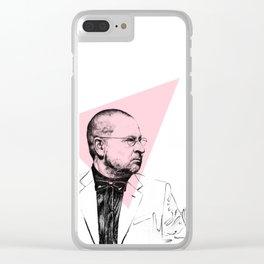 Lars Von Trier Clear iPhone Case