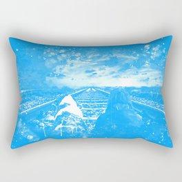 wanderlust wswb Rectangular Pillow