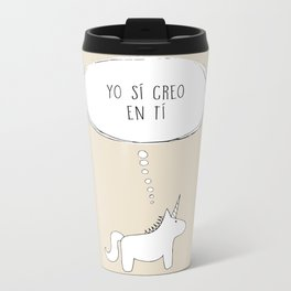 believe in me Metal Travel Mug
