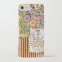 mom iPhone & iPod Cases featuring Mom by Jamie Morath Art