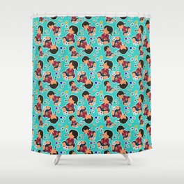 pattern jaxes Shower Curtain