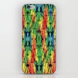 tie dyed cross case/skin iPhone Skin