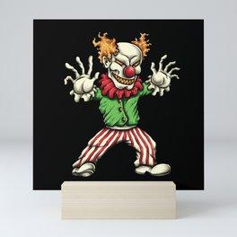 Evil Clown Mini Art Print