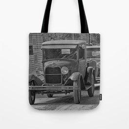Rusty Pickup Shiny Car Tote Bag