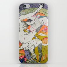 attention iPhone & iPod Skin