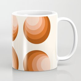 Tight - minimal retro 70s style throwback vintage style vibes circles abstract Coffee Mug