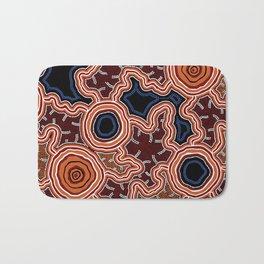Aboriginal Art Authentic - Pathways Bath Mat