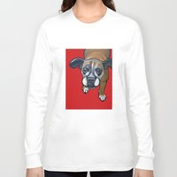 lucy Long Sleeve T-shirts featuring Lucy by Pawblo Picasso