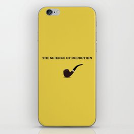 The Sherlock Holmes Quote I iPhone Skin