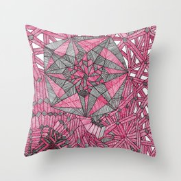 STAIRWAYS TO NO WHERE ON PLANET FRACTAL! Throw Pillow