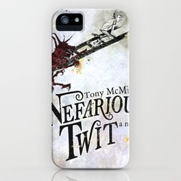 Nefarious Twit, Where the Ladder Leads  iPhone Case