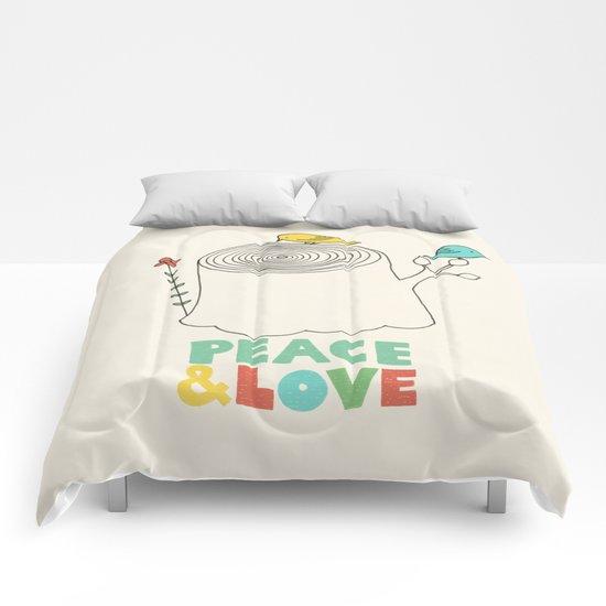 Peace & Love Comforters