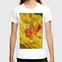 moss T-shirts featuring Moss Rose by IowaShots