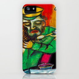 Marc Chagall Spoonful of Milk iPhone Case