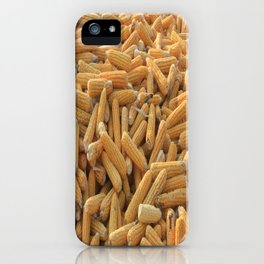 Husked Sweetcorn iPhone Case
