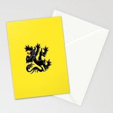 Flag of Flanders - Belgium,Belgian,vlaanderen,Vlaam,Oostende,Antwerpen,Gent,Beveren,Brussels,flamish Stationery Cards