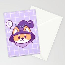 Witch Doggo Stationery Cards