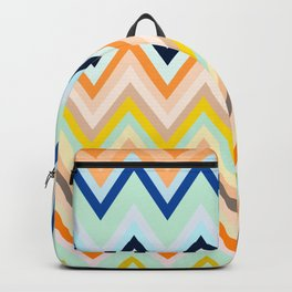 Colorful chevron Backpack