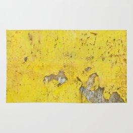 Yellow Weathered Wood rustic decor Rug