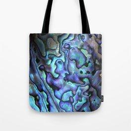 Deep Purple Abalone Shell Tote Bag