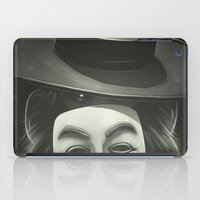 anonymous iPad Cases featuring Anonymous II by Dr. Lukas Brezak