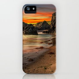 Welsh Coast Sunset iPhone Case