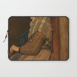 Edgar Degas - A Roman Beggar Woman.jpg Laptop Sleeve