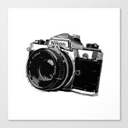 Nikon Camera Canvas Print