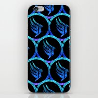 mass effect iPhone & iPod Skins featuring Mass Effect Paragon by foreverwars