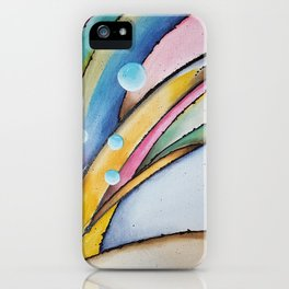 Birth of a Wave iPhone Case