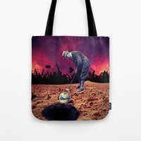 golf Tote Bags featuring Golf by Cs025