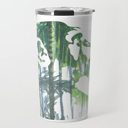 Banksy Chimps Travel Mug