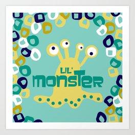 Lil' Monsters Art Print