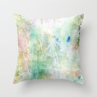 world maps Throw Pillows featuring Maps by Casey Carsel