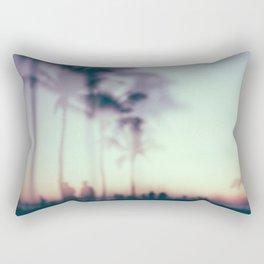 Hazy sunsets Rectangular Pillow