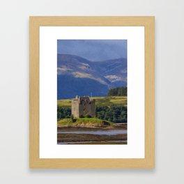 Castle Stalker Argyll, Scotland Framed Art Print