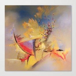 Ce que le vent disperse 1 Canvas Print