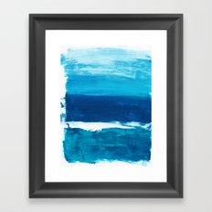Ocean View Two Framed Art Print