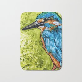 King Fisher By Pam Hayes - Bath Mat