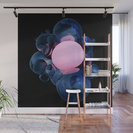 Warm Bubble Wall Mural
