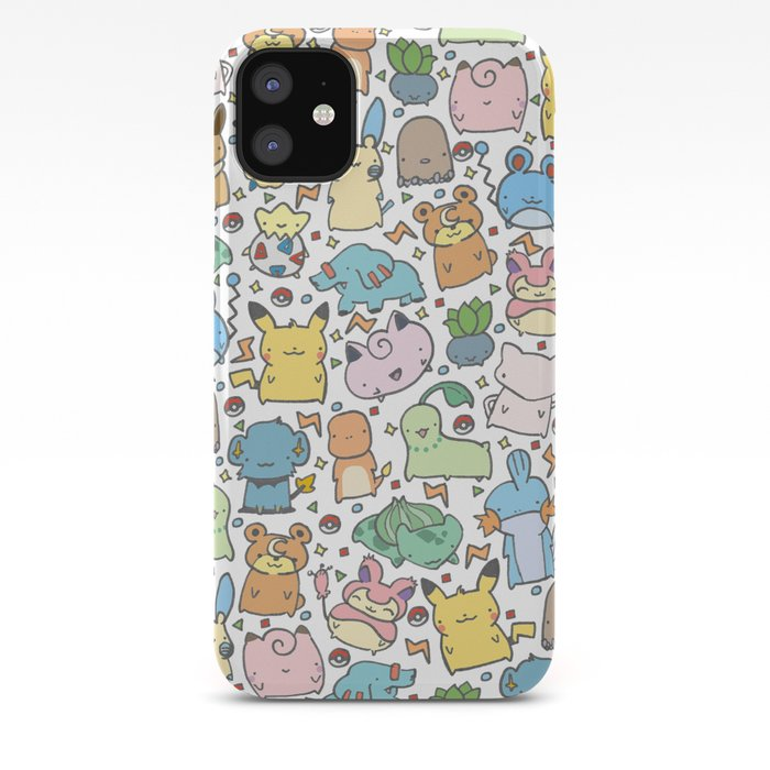 Pokemon Kawaii iphone case