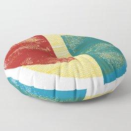 Circle Pieces 2 Floor Pillow