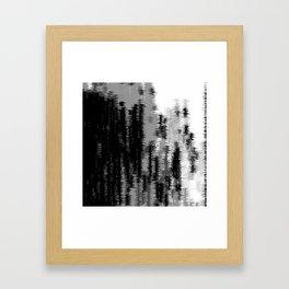 Blasted 01 Framed Art Print