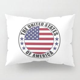 The United States of America - USA Pillow Sham