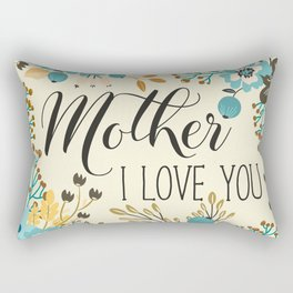 Mother's Day (Mother I Love You) 2 Rectangular Pillow