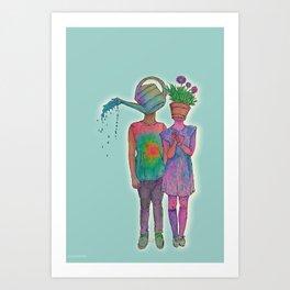 osmosis and photosynthesis  Art Print