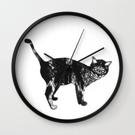 Tail on the Tail Wall Clock