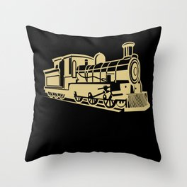 Model Railroad Builder  Ho Scale Craftsman Gift Throw Pillow