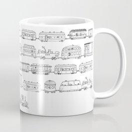 Marco's train - Black Coffee Mug