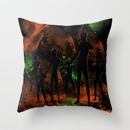 Landing Party Throw Pillow